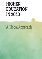 What are the predictions of trends in global higher education in 2040?
